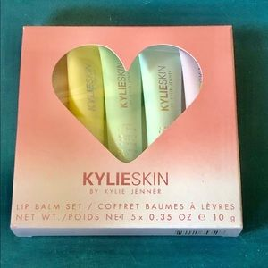 Kylie Skin Lip Balm Set New Sealed With Receipt 💜